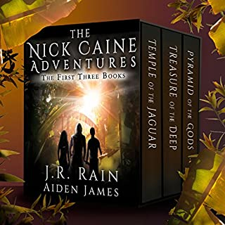The Nick Caine Adventures: First Three Books audiobook cover art