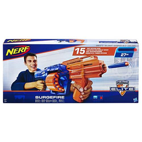 Nerf - Nerf Elite Surgefire et Flechettes Nerf Elite Officielles
