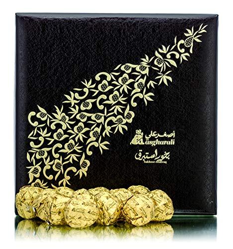 A ASGHARALI BAKHOOR ESTABRAQ 240GM - Rich Agarwood Oudh Incense Frag