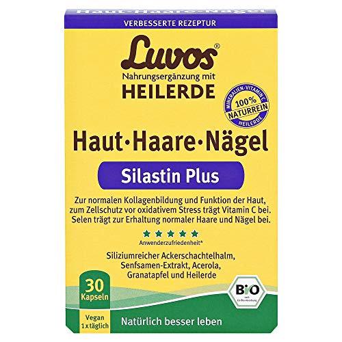 LUVOS Heilerde Bio Silastin Plus Haut Haare Nägel 30 Stück