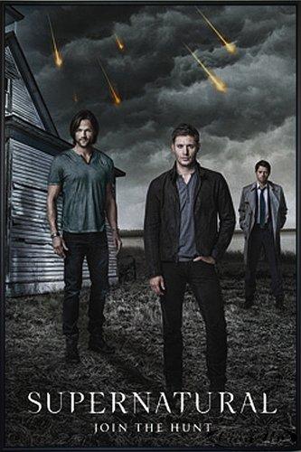 Close Up Supernatural Poster Join The Hunt (93x62 cm) gerahmt in: Rahmen schwarz