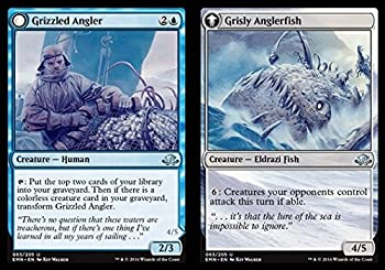 Magic The Gathering - Grizzled Angler // Grisly Anglerfish  063/205  - Eldritch Moon