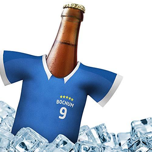 Fan-Trikot-kühler Home für VFL Bochum-Fans | DRIBBEL-KÖNIG | 1x Trikot | Fußball Fanartikel Jersey Bierkühler by ligakakao.de