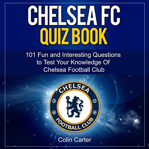 Chelsea FC Quiz Book cover art