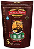 5LB Don Pablo Signature Blend - Medium-Dark Roast - Whole Bean Coffee - Low Acidity - 5 Pound (5 lb) Bag