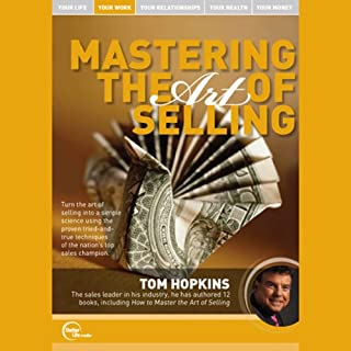 Mastering the Art of Selling (Live) audiobook cover art