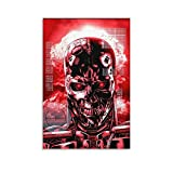 shenbing Terminator Endoskelett Kunstwerk