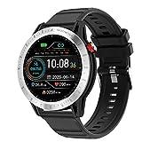 Voigoo Reloj Inteligente, Smartwatch Hombre 3ATM Impermeable con 10 Modos Deportivos Cronómetro Puls...