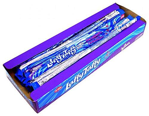 Willy Wonka Laffy Taffy Whips Blue Raspberry 24er Pack