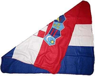 Croatia Croatian 50x60 Polar Fleece Blanket Throw