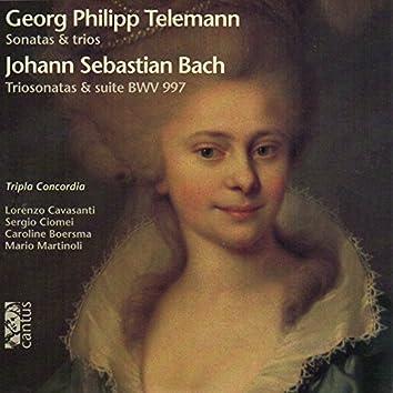 Telemann: Sonatas & Trios – Bach: Trio Sonatas & Suite, BWV 997