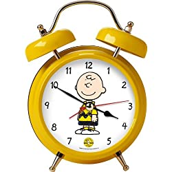 Wacky Wakers Charlie Brown Peanuts Alarm Clock - Plays Linus and Lucy