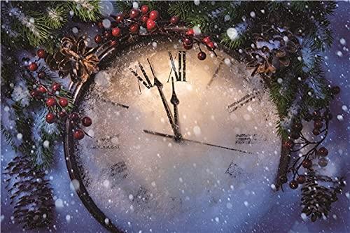 Fondo de fotografía de Interior Fondo de fotografía de Navidad Fondo de Vinilo Accesorios fotográficos A22 7x5ft / 2,1x1,5 m