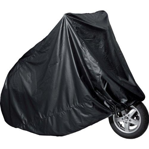 Polo Motorradabdeckung Motorradplane Motorradgarage Outdoor Abdeckplane Roller groß schwarz 240/140/90cm, Unisex, Roller/Scooter, Ganzjährig, PVC
