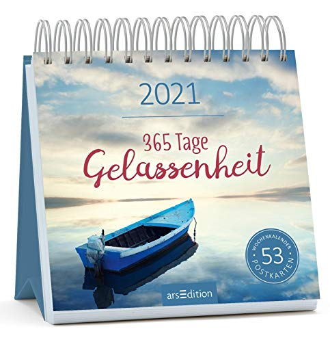 Postkartenkalender 365 Tage Gelassenheit 2021