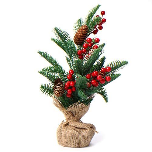 albero di natale 45 cm Rinri - Albero di Natale artificiale in miniatura