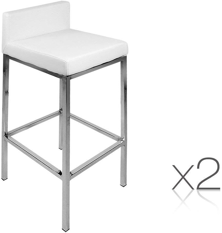 OFN PU Bar stools - White