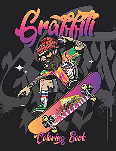 Compare Textbook Prices for Graffiti Coloring Book: Street & Urban art Coloring book for adults, teens, and Kids, Fun and Relaxing Graffiti Street Arts & Fonts Coloring Pages  ISBN 9798739360847 by Press, Sima Cornelli