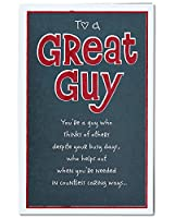 American Greetings Great Guy Valentine's Day Card for Him with Glitter (5815843)