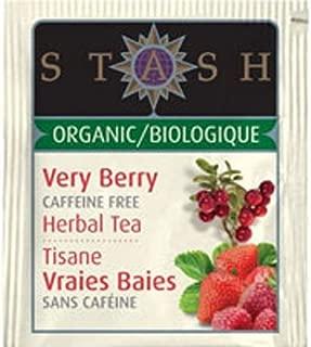 Stash Organic Herbal Tea Caffeine Free Very Berry - 18 Tea Bags