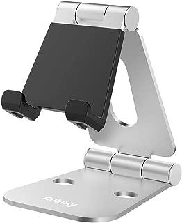Nulaxy iPad/タブレットスタンド スマホスタンド 充電スタンド 折り畳み式 270°自由調整可能 Nintendo Switchスタンド 4-13インチに対応(シルバー)