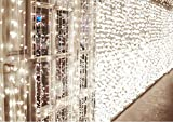 【Luminosità Eccellente e Di Sicuro】 - 600 Leds 6M x 3M, Certificato CE e RoHS, luci di sicurezza a 24V. I LED non scaldano, completamente sicuro al tatto e senza il rischio di ustioni. Grazie al trasformatore plug-in certificato CE, la tensione di in...