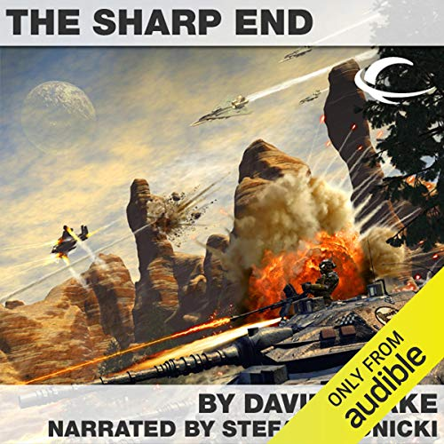 The Sharp End audiobook cover art
