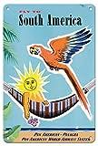 HONGXIN Südamerika-Metallschilder Warnschild Metallschild