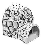 Ricco, 3D-Spielhaus für Kinder aus Karton für Mal- und Bastelarbeiten