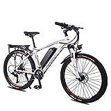 LZMXMYS Bicicleta eléctrica, 26 Pulgadas Rueda de la Bici eléctrica de aleación de Aluminio 36V 13Ah de la batería de Litio de montaña Bicicleta de Ciclo, 27 Transmisión de Bici Ligera
