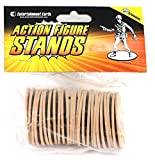 Entertainment Earth Action Figure Stands 25-Pack - Tan