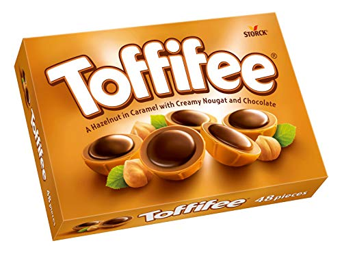 Toffifee (1 x 400g) / Haselnuss in Karamell, Nougatcreme und Schokolade