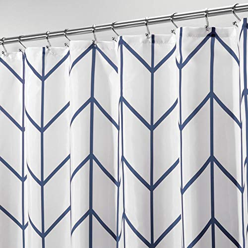 mDesign Cortina de ducha – Cortinas de baño de atractivo