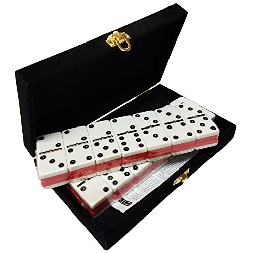 Domino Double Six - Red & White Two...