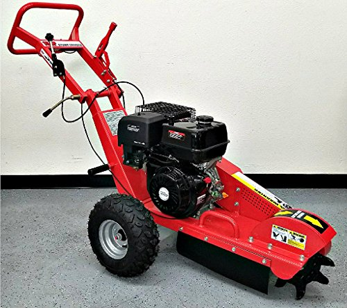 Stump Grinder 15 HP 420cc 4 Stroke Gas Engine Walk Behind Tree Stump Removal Wood Cut 12 Inch...
