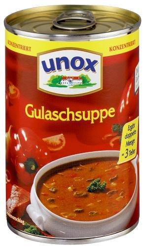 Unox Gulaschsuppe , 3er Pack (3 x 400 ml Dose)