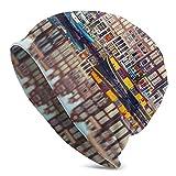 QQIAEJIA Amsterdam Canal Night City - Gorro de pasamontañas ligero para hombre y mujer