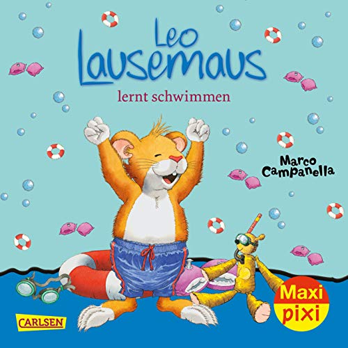 Maxi Pixi 255: VE 5 Leo Lausemaus lernt schwimmen (5 Exemplare) (255)