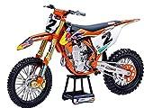 New Ray 58213 - Pegatinas para placa (450 SX-F # 2 Cooper Webb con supercross # 1, diseño de moto de Red Bull Factory Racing 1/10