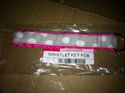 Thirty One Wristlet Key Fob in Lotsa Dots - 3514