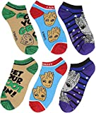 Bioworld Marvel Guardians of The Galaxy 2 I Am Groot 3-Pack Ankle Socken