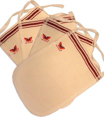 Set von 4 Stck, Turkish Kese Peeling Handschuhe, Für Hammam / Spa, Um Eine Gesunde Haut Ohne Cellulite