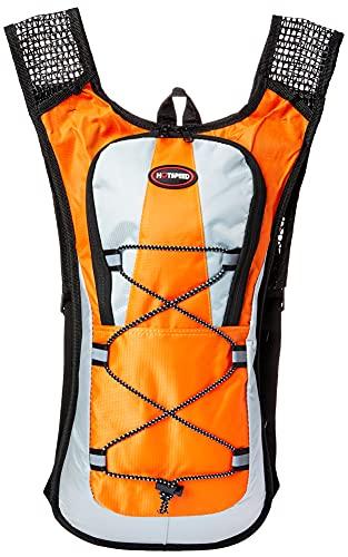 Mochila Hidratação 2 Litros Bolsa Água Impermeável Bike Cor: Laranja