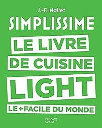 livre Simplissime light: Le livre de cuisine light le + facile du monde