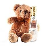 Guylond Flor de algodón Colección del oso de peluche y botella de Champagne Set de baño, 1er Pack (1 x 240 g)
