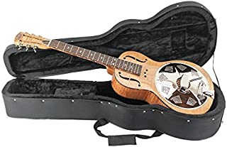 Royall Resonators Flame Maple Parlor Size Resonator Guitar with Case