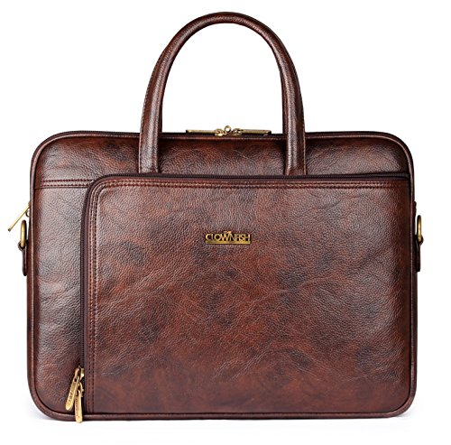 The Clownfish Trident Series Laptop Briefcase 15.6 inch...