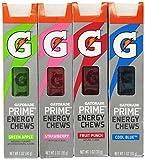 Gatorade G Series 01 Prime Energy Chews Mixed 4 Pack (4 Sleeves)
