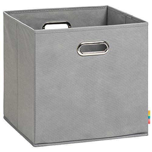 Schmetsdorf (H&S) Aufbewahrungsbox LEA - Faltbox - 33x33x33 cm - (Grau)