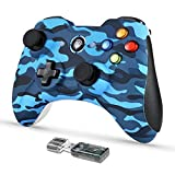 EasySMX Wireless Game Controller, KC-8236 2.4G Wireless Gamepad, Dual Vibration, 8 Stunden Spielzeit für PS3 / PC/Android Tablets, TV-Box
